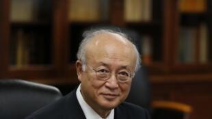 Генеральный директор МАГАТЭ Юкия Амано. Токио 09/10/2013