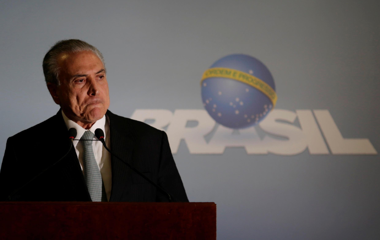 Le président brésilien Michel Temer a annoncé lors d'une allocution jeudi 18 mai qu'il ne démissionnerait pas.