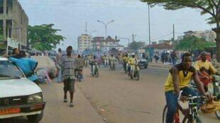 Cotonou, Bénin.