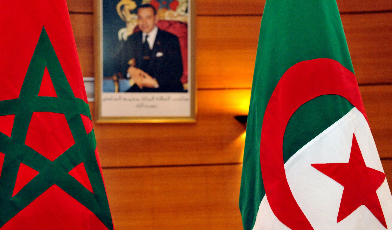 drapeau algérie maroc