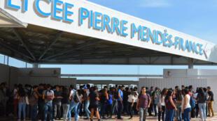 Le lycée français Pierre Mendes à Tunis.