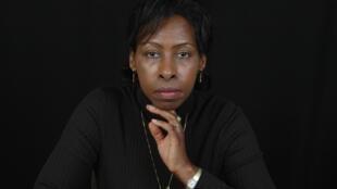Portrait de la romancière Scholastique Mukasonga.