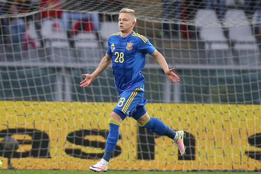 Olexandre Zinchenko kiungo kinda wa timu ya taifa Ukraine