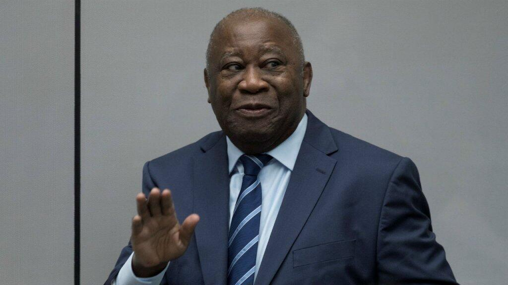 Ousted Côte d'Ivoire President laurent Gbagbo at the International Criminal Court, january 15, 2019.