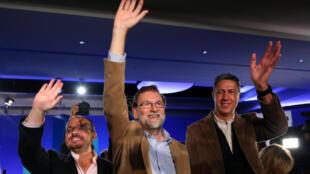 西班牙首相拉霍伊資料圖片
