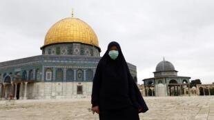 Harabar Masallacin Birnin Kudus na uku mafi daraja ga Musulman duniya.