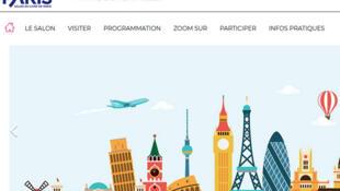 L'Europe est à l'honneur du Salon du livre Paris 2019 (Capture d'écran).