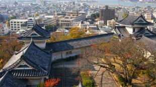 Une ville japonaise.