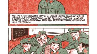 Détail de la bande dessinée «Servir le peuple», d'Alex W. Inker.