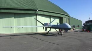 Le drone «Reaper» de l'armée de l'air a été acheté aux Etats-Unis. On le voit ici sur la base aérienne de Cognac.