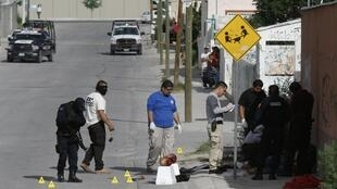 A Juárez au Mexique, la criminalité liée à la drogue est très importante.
