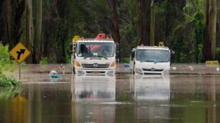 Les inondations dans l'est de l'Australie