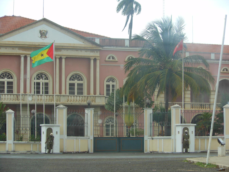 Palácio Presidencial, em São Tomé e Príncipe