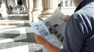 Les déclarations de Matteo Salvini appelant à des élections législatives ont été abondamment commentées dans la presse italienne ce 9 août 2019.