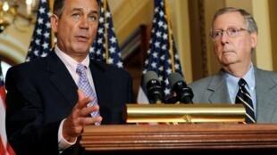 Đại diện đảng Cộng hoà ở Thượng Viện Mitch McConnell có chủ trương cứng rắn đối với Miến Điện(REUTERS)