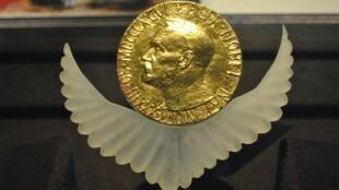 Huy chương Nobel Hòa bình.
