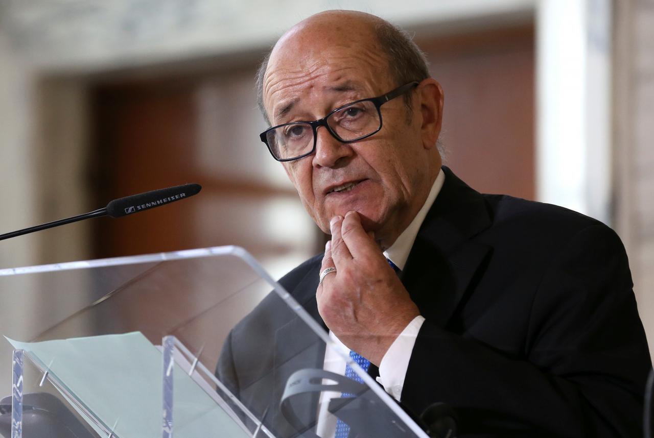 ژان-ایو لودریان وزیر امور خارجۀ فرانسه