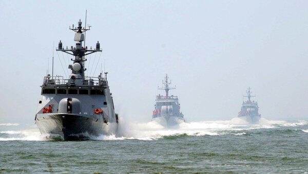 Ảnh minh họa: Hải quân Trung Quốc tập trận trên Biển Đông cuối tháng 06/2010