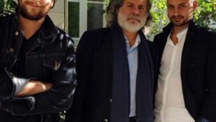 Rami, Marcel et Bachar Khalifé.