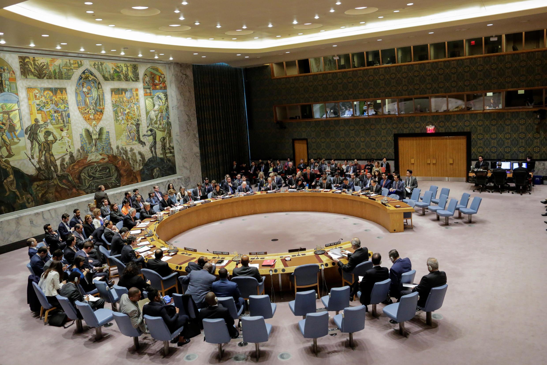 Một phiên họp của Hội Đồng Bảo An Liên Hiệp Quốc. Ảnh minh họa.