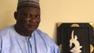 Boubacar Gaoussou Diarra dans son bureau à Bamako, Avril 2021.