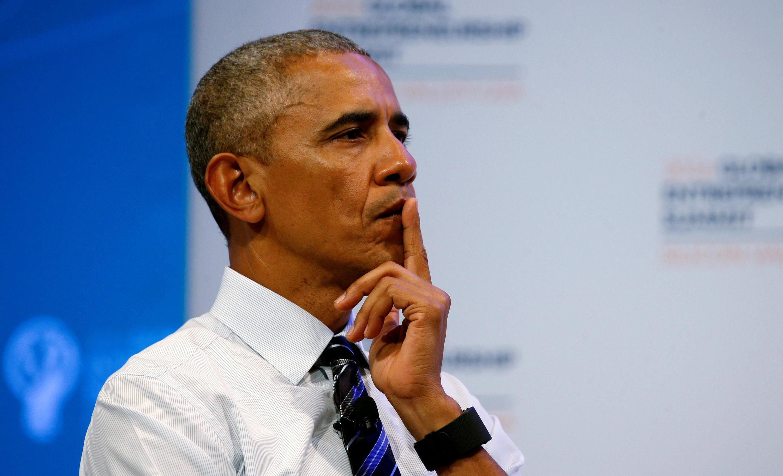 Le président des Etats-Unis, Barack Obama.