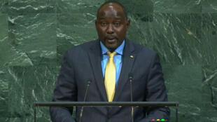 Ibrahim Yacouba, ministre des Affaires étrangères du Niger.