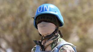 Un soldat de la Minuad en patrouille au Darfour (image d'illustration)