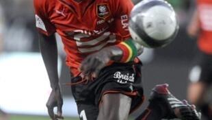 L'attaquant guinéen Ismaël Bangoura.