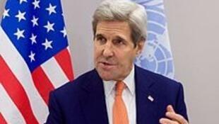 美国气候特使克里John F. Kerry