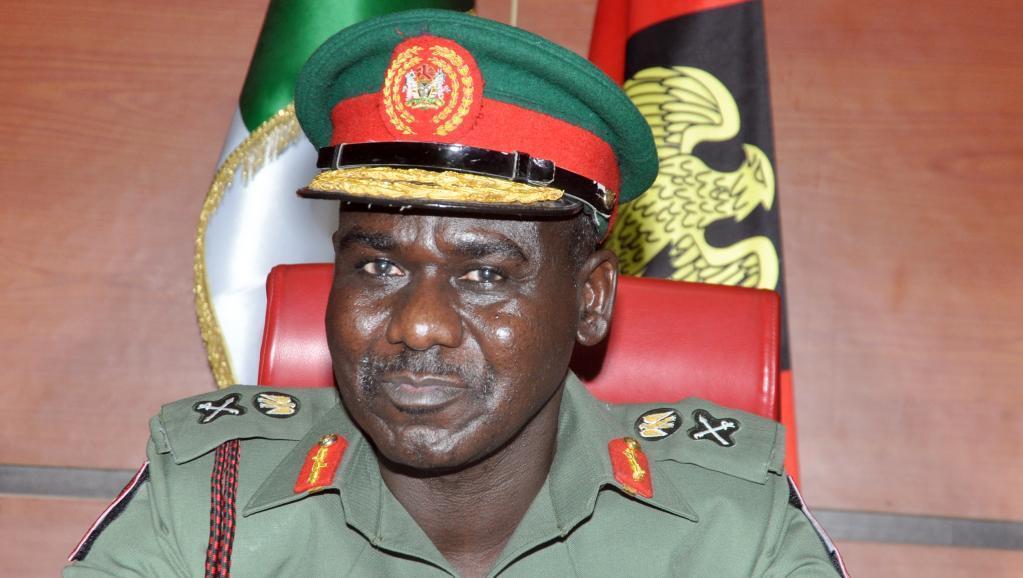Nigerian Military Chief Lieutenant General Yusuf Tukur Buratai.
