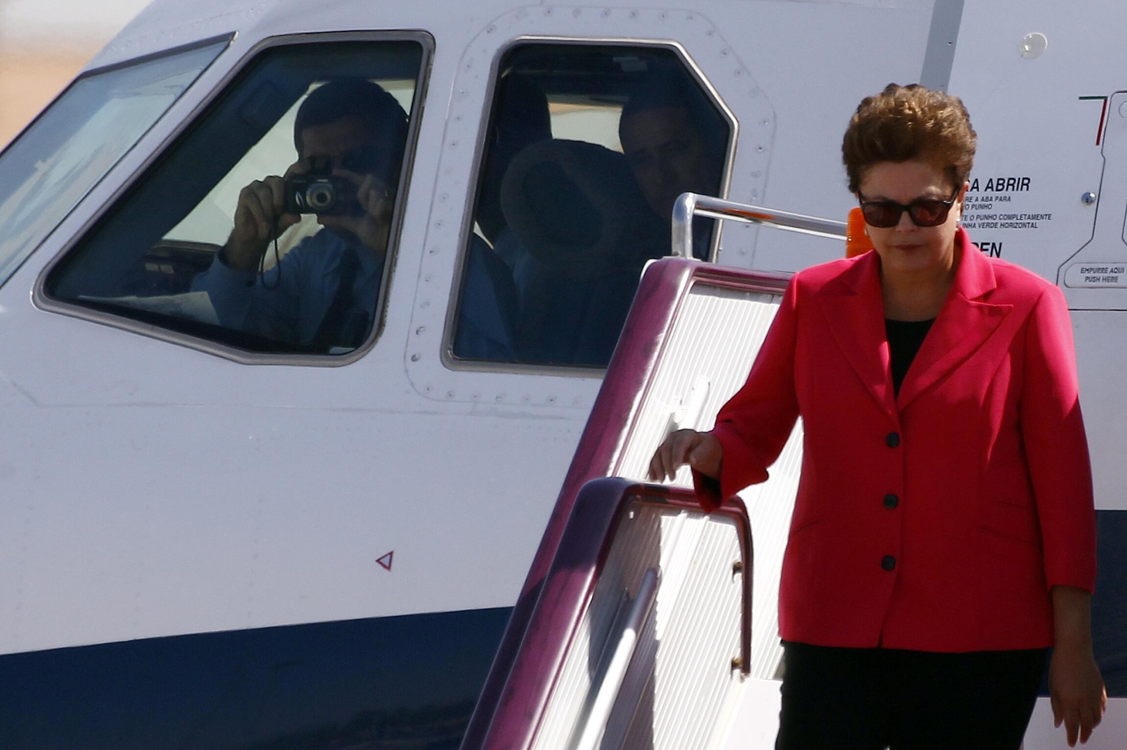 A presidenta Dilma Rousseff chegou a Pequim no início desta madrugada, no horário de Brasília, para uma visita de seis dias à China.
