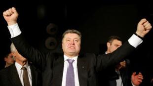 Petro Porochenko, milionário ucraniano apontado como favorito na eleição presidencial de domingo.