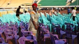 Les organisateurs prédisent que le grand stade de Bangui sera complet, mercredi, jour de l'investiture du président Faustin-Archange Touadéra.