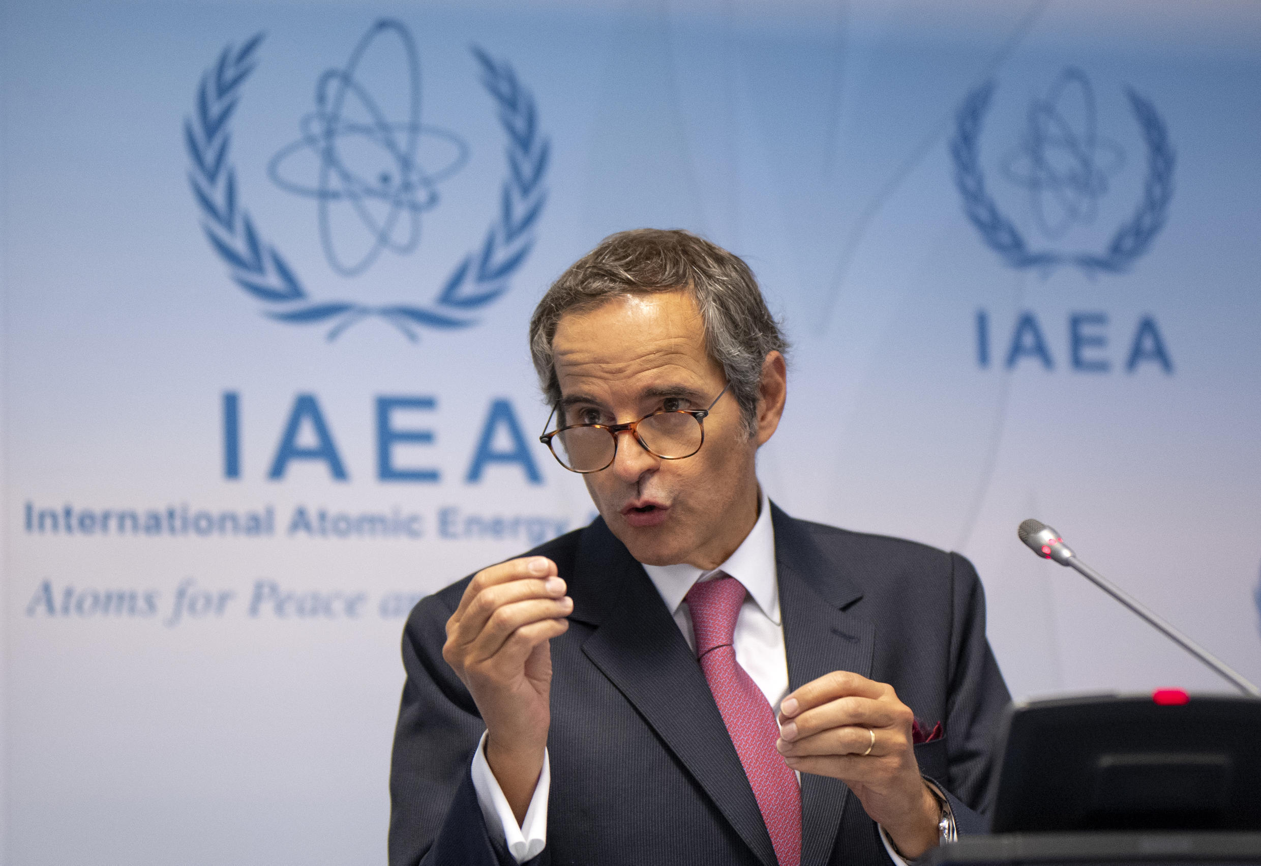 The UN nuclear watchdogs director general Rafael Grossi said a visit to a second Iranian site, to which the agency had requested access, was imminent