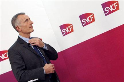 گیوم پپی، مدیر عامل شرکت راه آهن ملی فرانسه