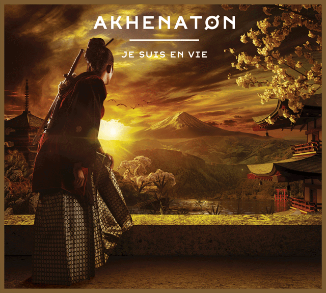Pochette de l'album « Je suis en vie » d'Akhenaton.