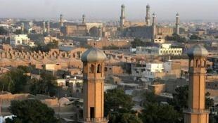 La ville d'Hérat a été relativement épargnée par les attaques d'insurgés.
