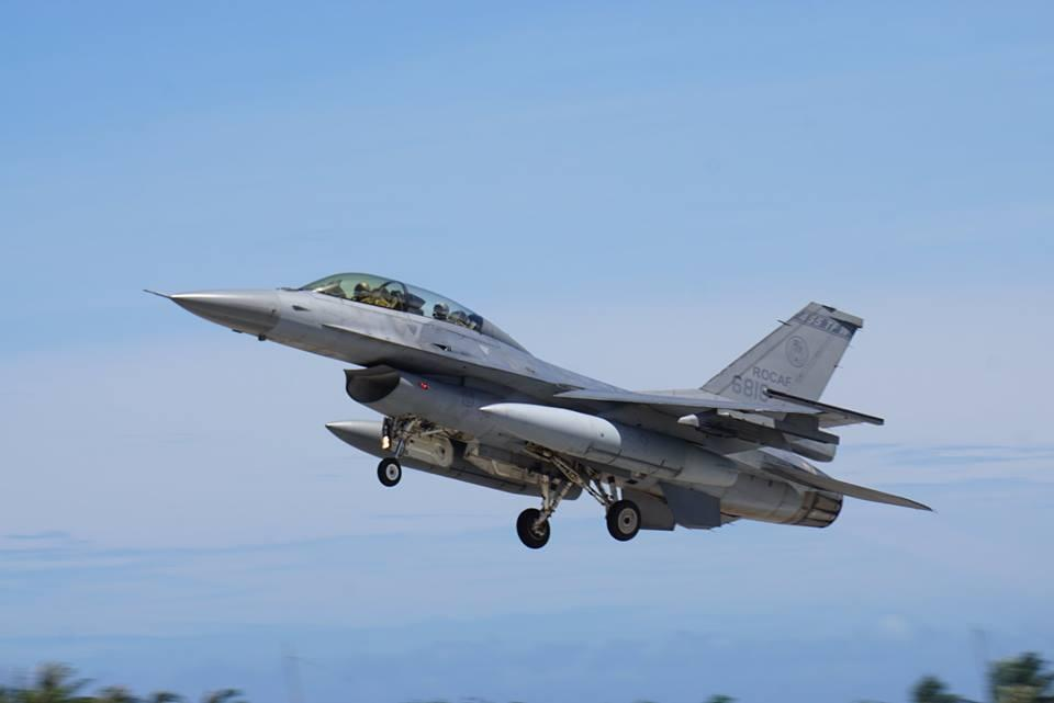 F-16 performing at an air show last July
