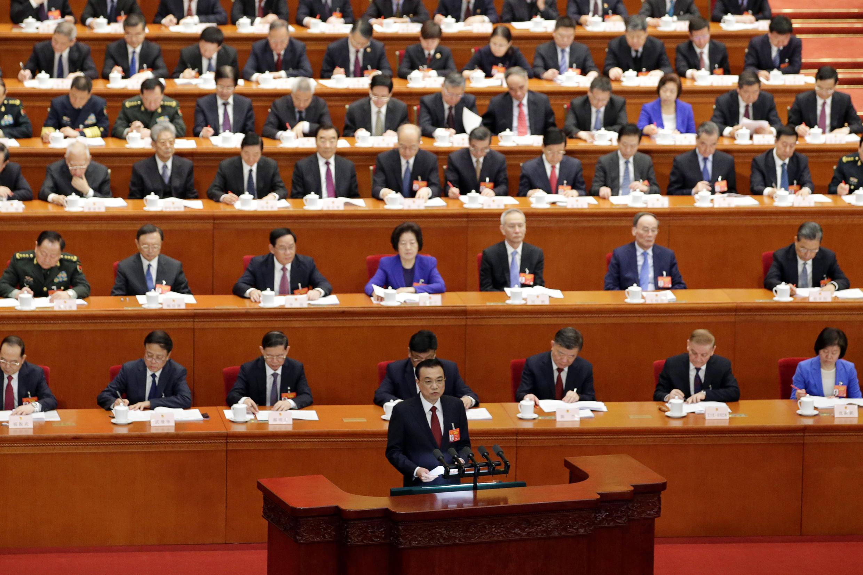 Le Premier ministre chinois Li Keqiang, le 5 mars 2019 à Pékin.