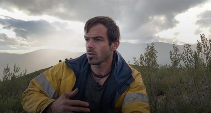 Rodrigo Ibarrondo também quer semear consciência na Sierra de Gata