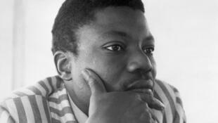 Yambo Ouologuem, en août 1971 à Copenhague, au Danemark.