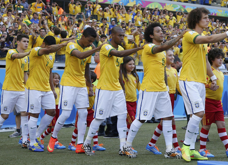 Kikosi cha wachezaji wa timu ya taifa ya Brazil.