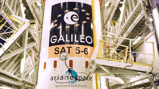 Europa lançou a 15 de dezembro o seu sistema próprio de navegação por satélite, Galileo, deixando de depender do GPS americano