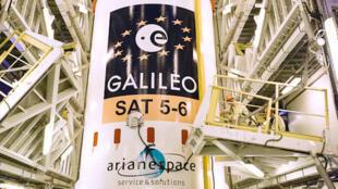 Os dois novos satélites do sistema de navegação por satélite europeu Galileo entraram em órbita em 22 de agosto de 2014.