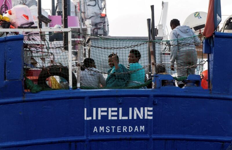 Le bateau Lifeline est toujours bloqué en mer ce dimanche 24.06.2018
