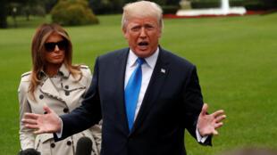 """O presidente americano, Donald Trump, lançou nesta sexta-feira uma nova estratégia com o Irã ao prometer enfrentar o """"fanático regime"""" e não certificar o acordo nuclear internacional alcançado em 2015, que ameaçou abandonar a qualquer momento."""