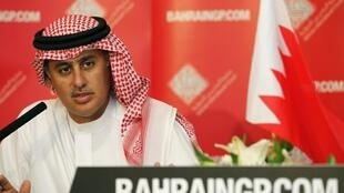 Zayed Alzayani, dirigente do circuito de Fórmula 1 do Bahrein.