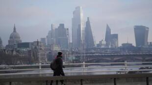 La city, le quartier financier de Londres.