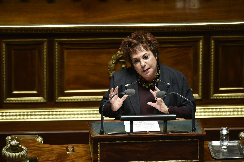Esther Benbassa, sénatrice EELV du Val-de-Marne.